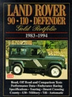 Land Rover 90/110 Defender Gold Portfolio, 1983-94 - Book