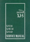 Jaguar XJS 3.6 and 4.0 Litre Service Manual - Book