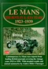 Le Mans : The Bentley and Alfa Years, 1923-39 - Book