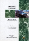 Land Rover Freelander Workshop Manual 1998-2000 - Book