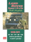 Land Rover Series I, II, IIA Gold Portfolio 1948-1971 - Book