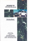 Land Rover Defender Td5 1999-2005 MY Onwards Workshop Manual - Book