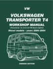 VW Transporter T4 Workshop Manual Diesel 2000-2004 - eBook