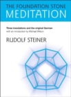 The Foundation Stone Meditation - Book