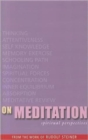 On Meditation : Spiritual Perspectives - Book