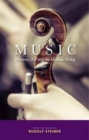 Music : Mystery, Art and the Human Being - Book