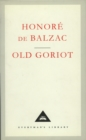 Old Goriot - Book
