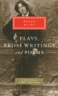 Plays, Prose Writings and Poems - Book