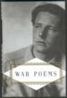 War Poems - Book