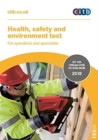 Health, safety and environment test for operatives and specialists : GT100/18 DVD - Book
