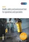 Health, safety and environment for operatives and specialists : GT100/19 DVD - Book