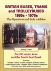 British Buses and Trolleybuses 1950s-1970s : London v. 6 - Book