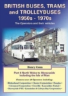 British Buses, Trams and Trolleybuses 1950s-1970s : North Wales to Merseyside Including the Isle of Man 8 - Book
