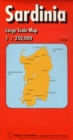 Sardinia Regional Road Map - Book