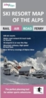 Ski Resort Map of the Alps - Book
