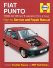 Fiat Punto Petrol & Diesel (94 - Oct 99) L To V - Book