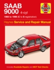 Saab 9000 (4-Cyl) (85 - 98) C To S - Book