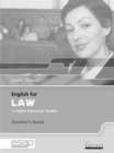 English for Law Teacher Book - Book