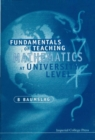 Fundamentals of Teaching Mathematics at University Level - Book