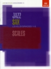 Jazz Sax Scales Levels/Grades 1-5 - Book