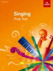Singing Prep Test - Book