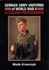German Army Uniforms of Ww2 - Book