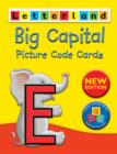 Big Capital Picture Code Cards - Book