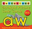 Straight Picture Code Cards - Book