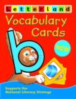 Vocabulary Cards - Book