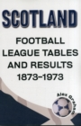 Scotland  -  Football League Tables & Results 1873 to 1973 - Book