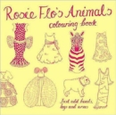 Rosie Flo's Animals Colouring Book - yellow - Book