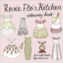 Rosie Flo's Kitchen Colouring Book - checker pink - Book