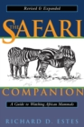 Safari Companion : A Guide to Watching African Mammals - Book