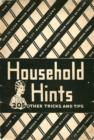 Household Hints : 205 Other Tricks and Tips - eBook