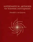 Mathematical Methods for Scientists and Engineers - Book