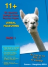 11+ 50-question Multiple Choice Practice Papers Verbal Reasoning Pack 1 - Book