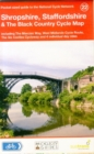 Shropshire, Staffordshire & The Black Country Cycle Map : Including the Mercian Way, West Midlands Cycle Route, The Six Castles Cycleway and 4 Individual Day Rides - Book