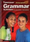 Grammar Activities Pre-Intermediate and Intermediate - Book