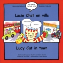 Lucy Cat in Town/Lucie Chat en ville - Book