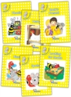 Jolly Phonics Readers, Inky & Friends, Level 2 : in Precursive Letters (British English edition) - Book