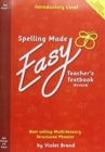 Spelling Made Easy Revised A4 Text Book Introductory Level : Teacher TextBook Introductory - Book