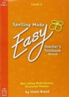 Spelling Made Easy Revised A4 Text Book Level 2 : 3 - Book