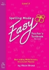 Spelling Made Easy Revised A4 Text Book Level 3 : Teacher Textbook Revised 4 - Book