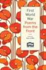 First World War Poems from the Front - Book