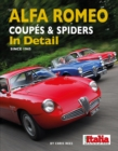 Alfa Romeo Coupes & Spiders in Detail since 1945 - Book