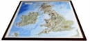 British Isles Raised Relief Map : Unframed - Book