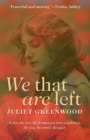 We That Are Left - Book