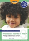 What Does It Mean To Be Three? - Book