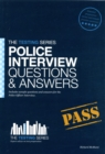 Police Officer Interview Questions & Answers - Book