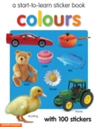 Colours Sticker Book - Book